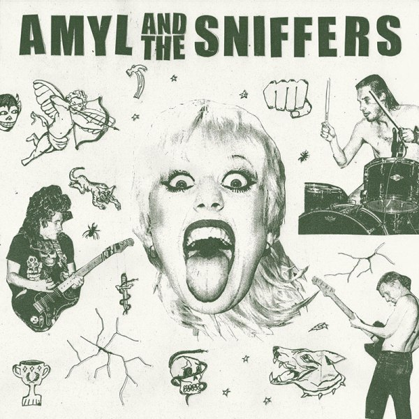 Amyl And The Sniffers - album cover