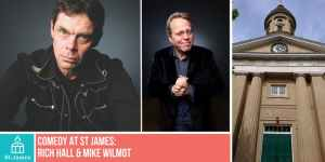 Rich Hall and Mike Wilmot - St James Concert Hall, Guernsey