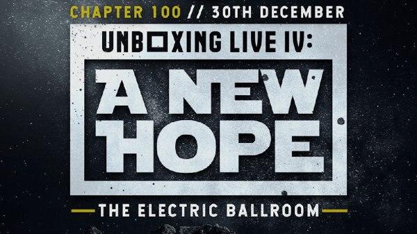 Progress Wrestling - Chapter 100 - Unboxing Live IV A New Hope - 2019 - logo