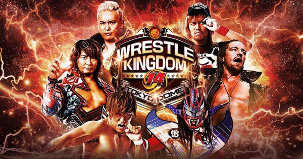 Wrestle Kingdom 14 poster
