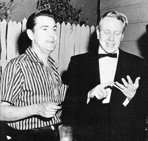 Plan 9 From Outer Space - Wood and Criswell on set