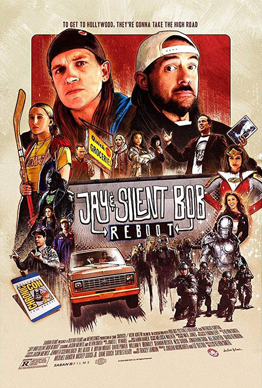 Jay and Silent Bob Reboot - poster