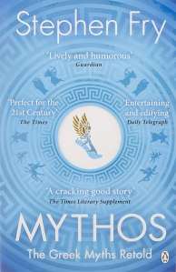 Mythos by Stephen Fry - book cover