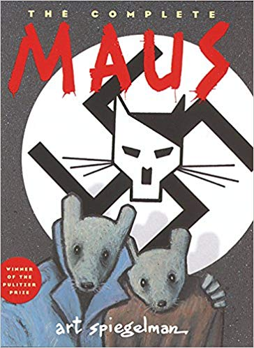 The Complete Maus by Art Spiegelman - book cover