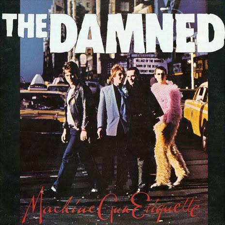 The Damned - Machine Gun Etiquette - album cover