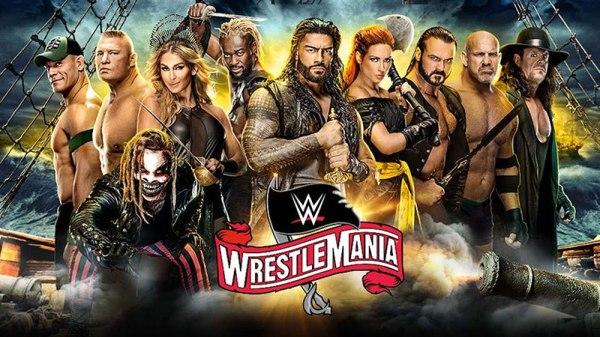 WWE Wrestlemania 36 poster