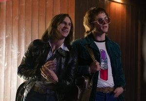 Rocketman - Jamie Bell and Taron Egerton