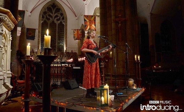 Kiya Ashton in the Town Church