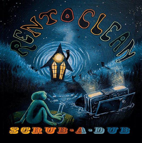 Rentoclean - Scrub-a-dub - album cover