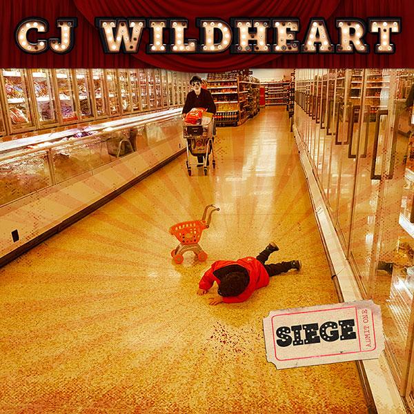 CJ Wildheart - Siege - album cover
