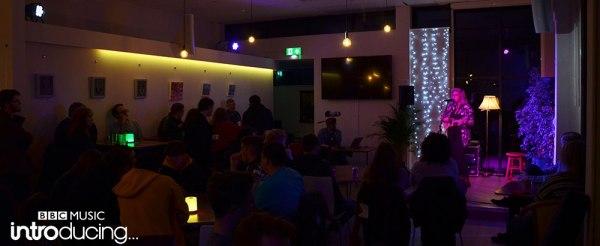 Emma Lauren Moyles at St James Cafe