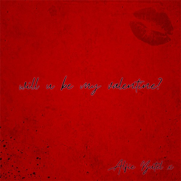 Alfie Butel - Will You Be My Valentine - single cover