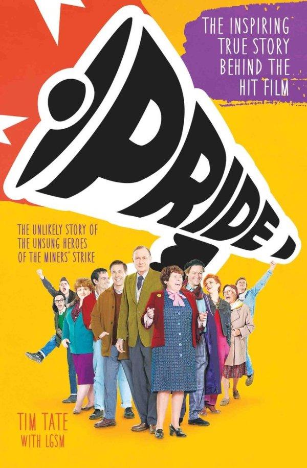 Pride book cover - Tim Tate and LGSM