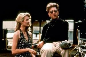 Wild At Heart - Laura Dern and David Lynch on set