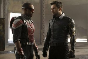 The Falcon and the Winter Soldier - Anthony Mackie and Sebastian Stan
