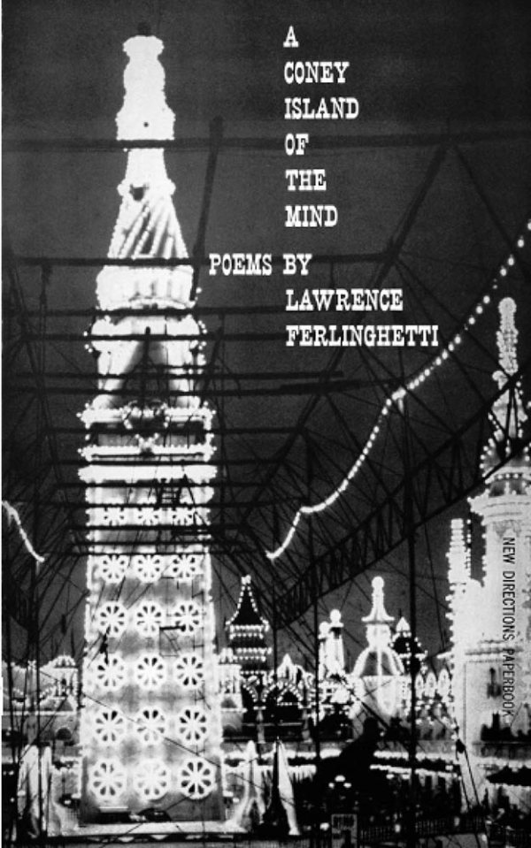 A Coney Island Of The Mind - Lawrence Ferlinghetti - book cover