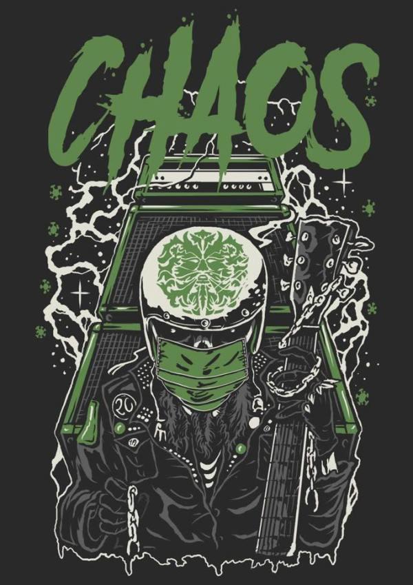Chaos 16 poster logo