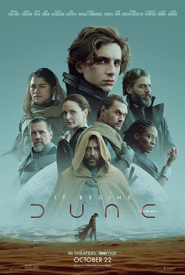 Dune 2021 poster