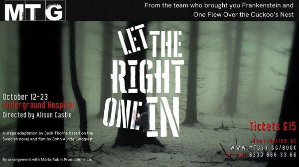 MTG - Let The Right One In - Poster