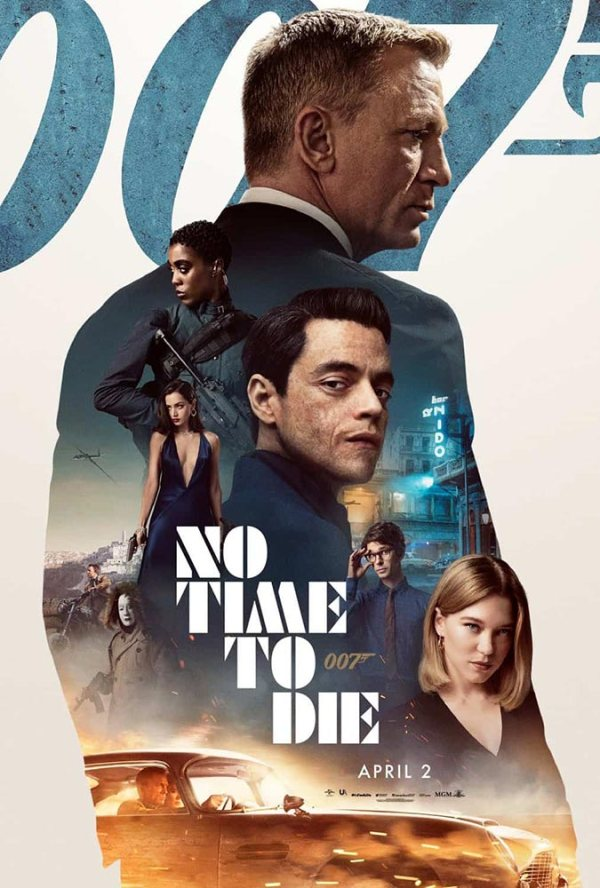 No Time To Die - poster