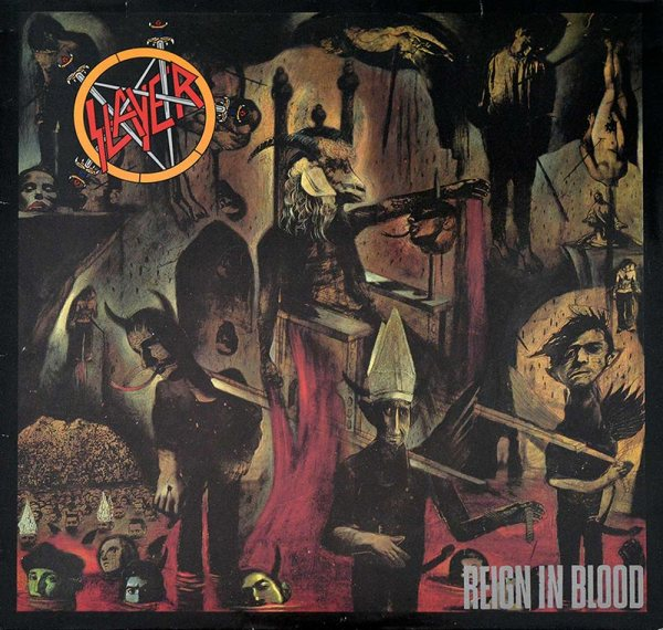 Slayer - Reign In Blood - album cover
